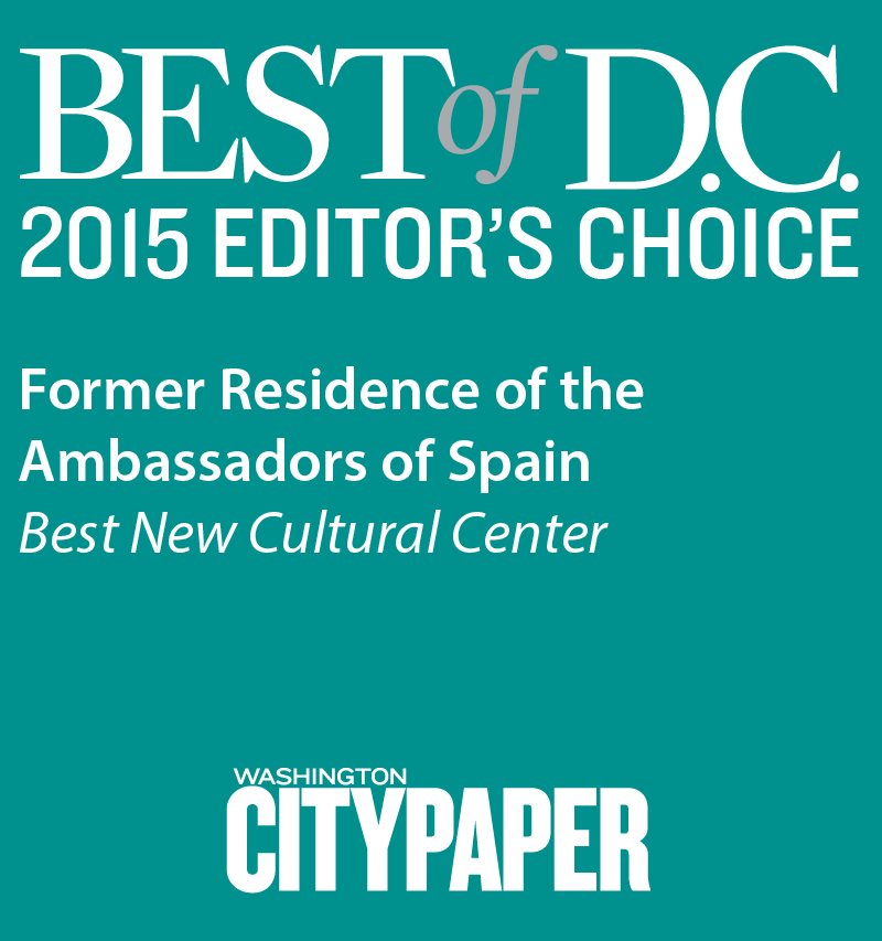 Winner of Best of DC's 2015 Editor's Choice